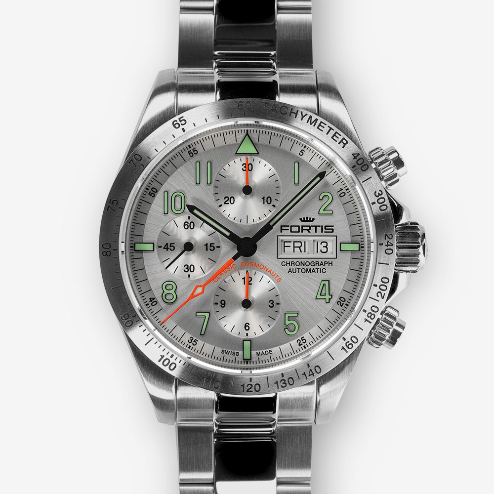 FORTIS CLASSIC COSMONAUTS STEEL A.M. 401.21.12