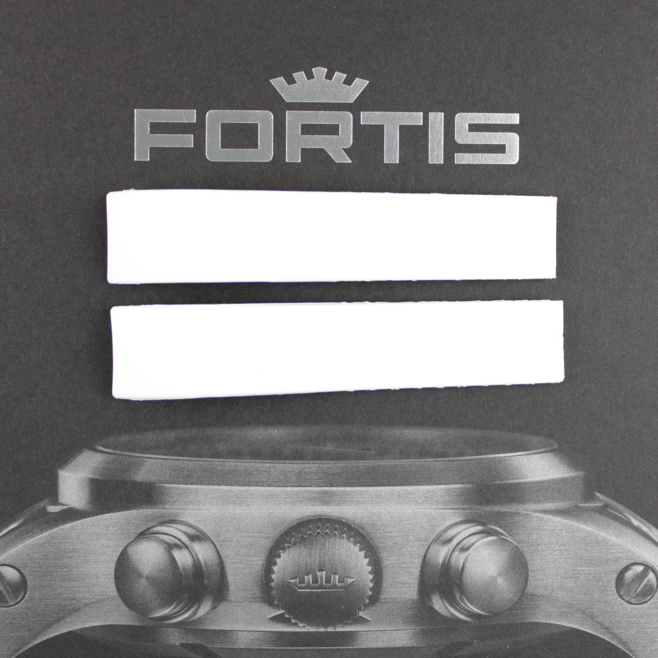 Fortis Spacematic Silikonband mit integrierten Anstoß