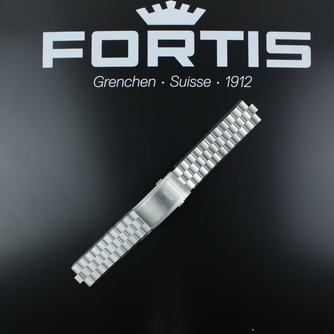 Fortis Flieger F-41 Metallband 21/20, Edelstahl gebürstet