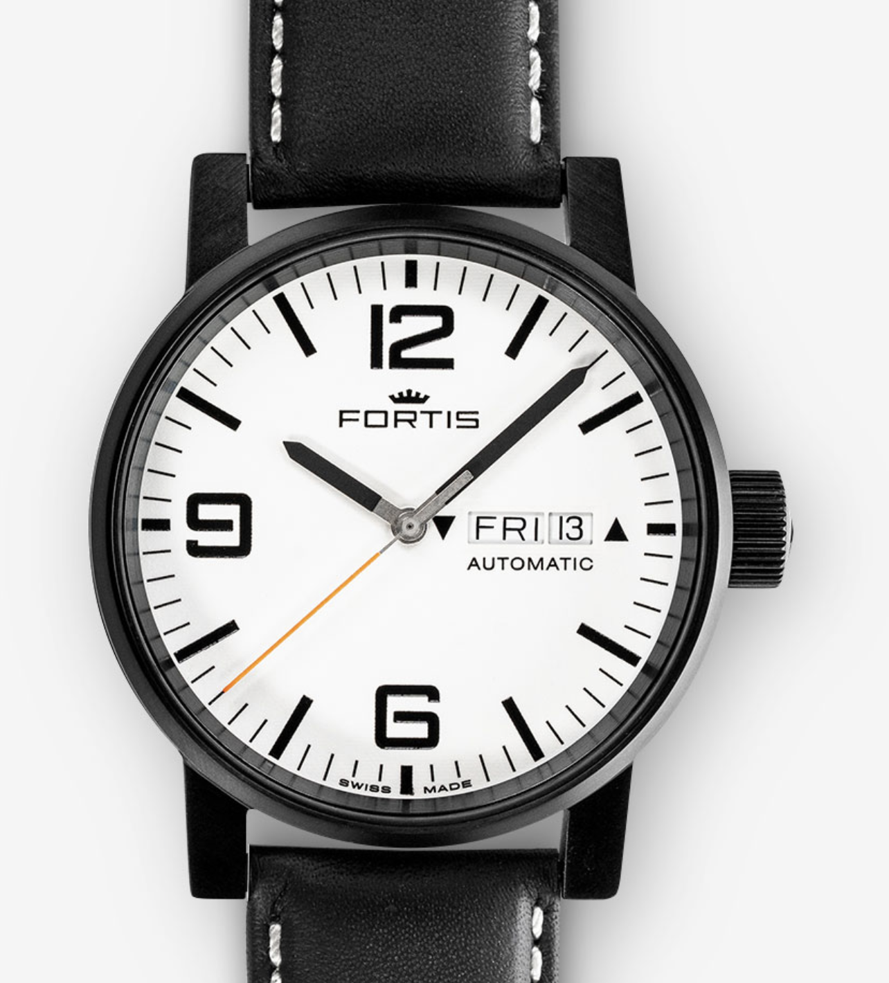 Fortis SPACEMATIC STEALTH WHITE 623.18.12